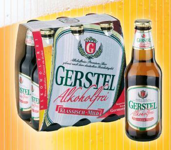 Cerveza Gerstel Sin Alcohol Pack de 6 botellas