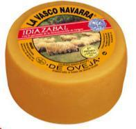 Queso Idiazabal Natural La Vasco Navarra